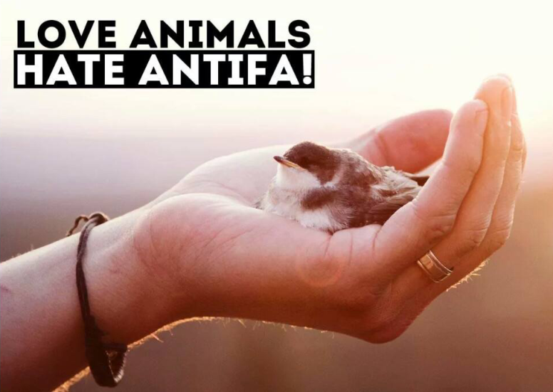 love-animals-hate-antifa
